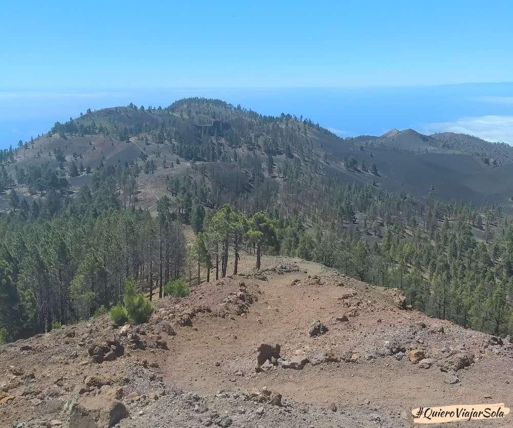 Ruta de los Volcanes, vistas