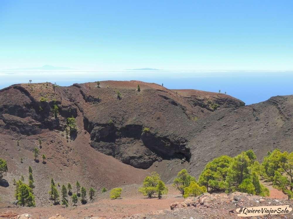 Ruta de los Volcanes, volcán Martín