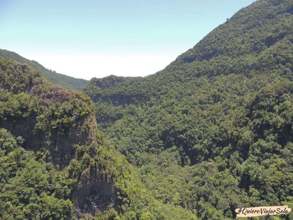 Bosque de los Tilos, mirador del Espigón Atravesado