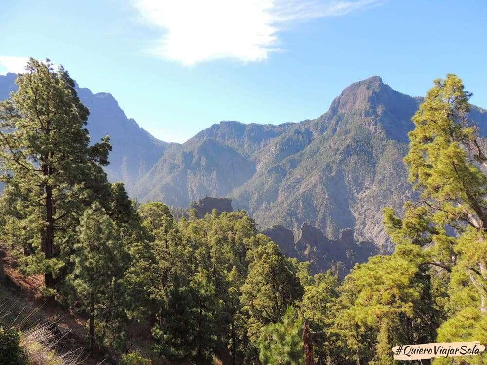 Caldera de Taburiente, Pico Bejenado