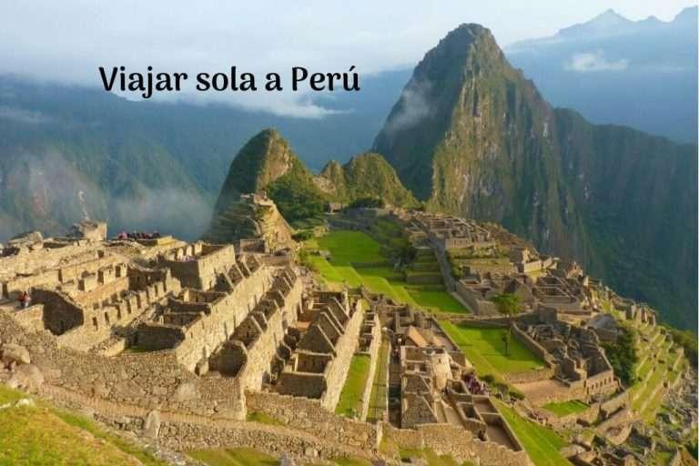 viajar sola a Perú