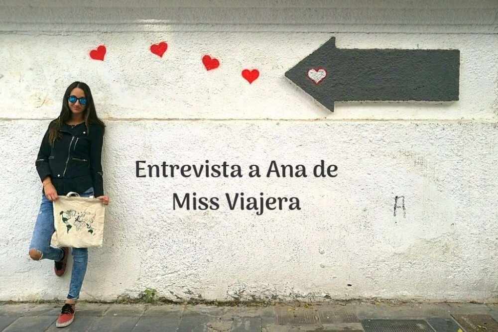 """Entrevista a Miss Viajera: """"En Brasil me quité el miedo a viajar sola"""""""