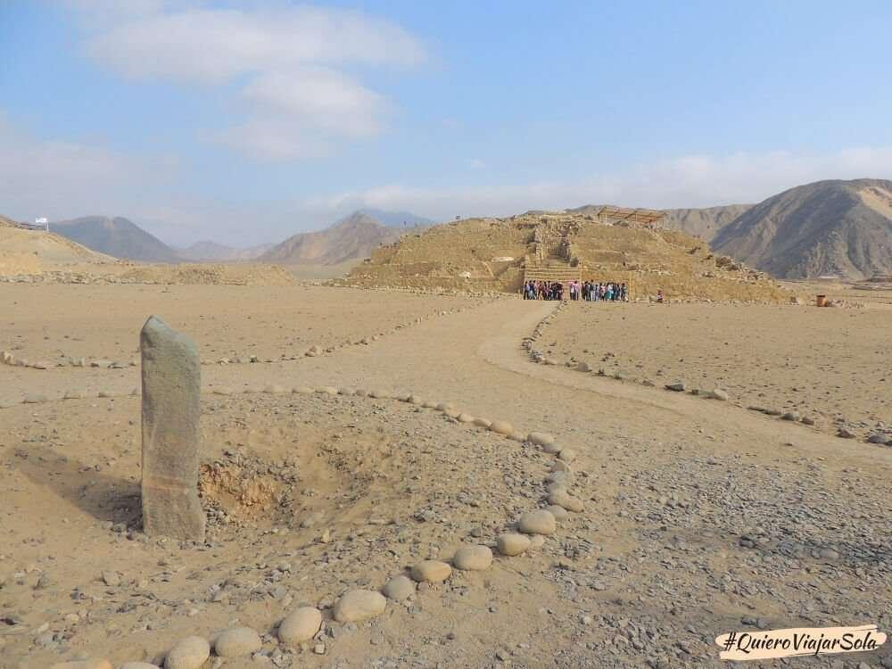 Viajar sola a Lima, tour a Caral