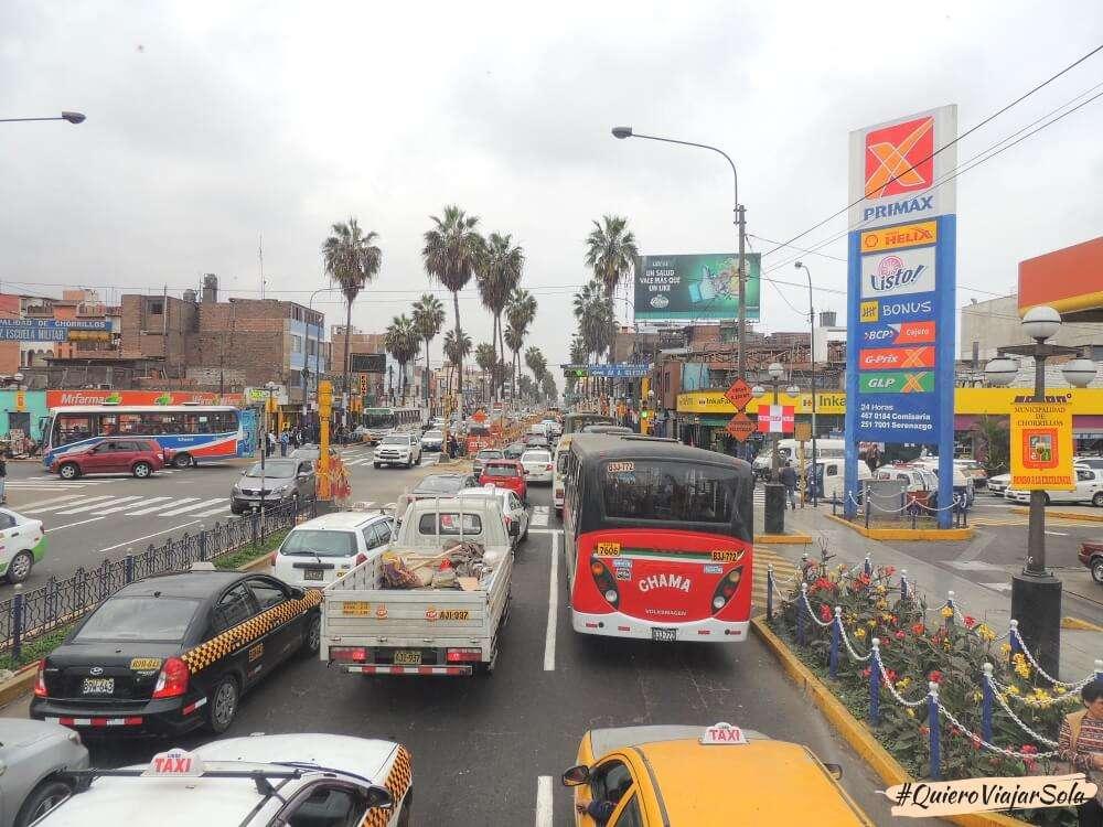 Viajar sola a Lima, cómo moverte