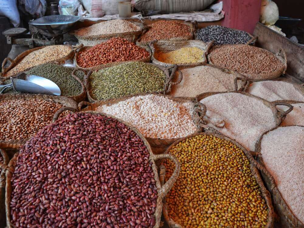 Viajar sola a Lamu, mercado