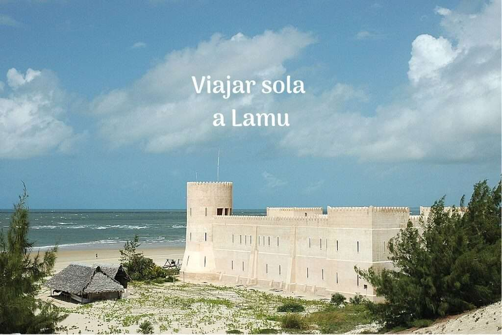 Viajar sola a Lamu
