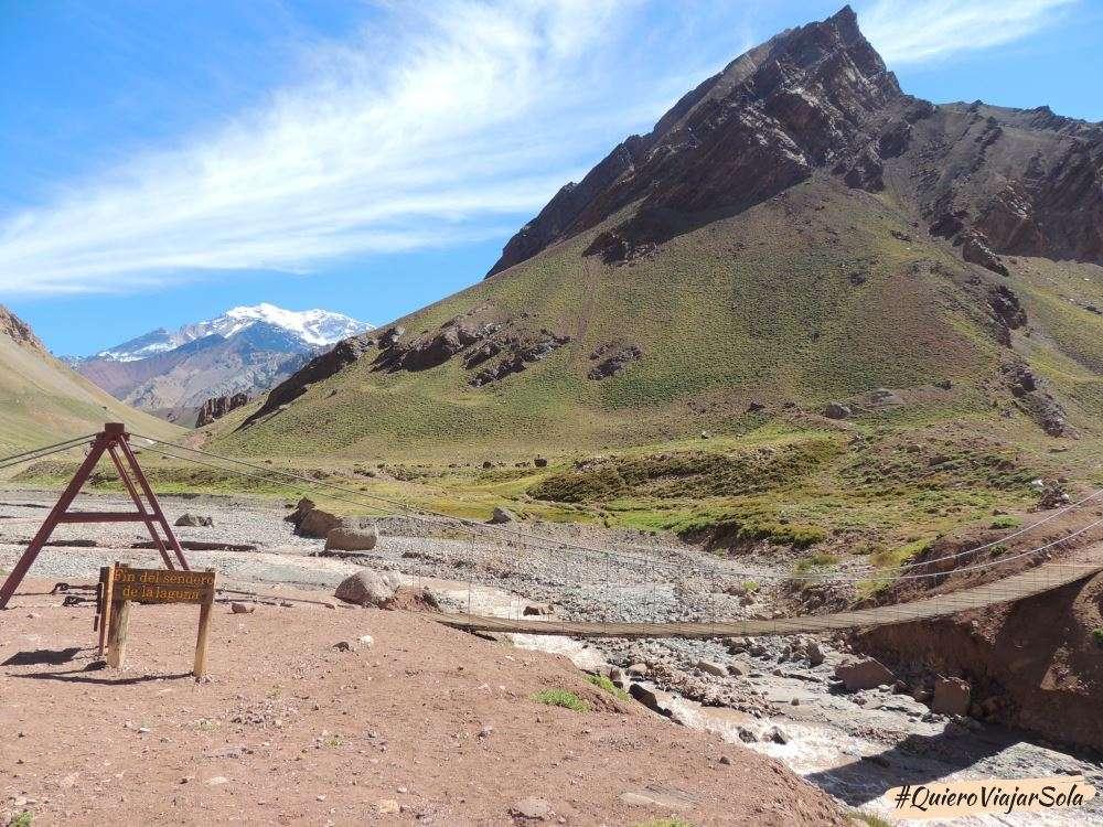 Viajar sola a Mendoza, Aconcagua