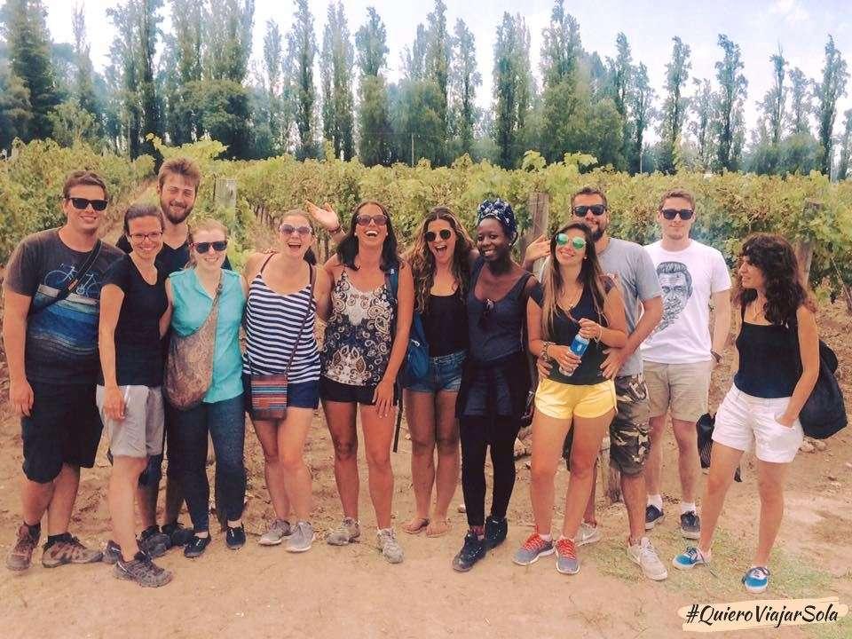 Viajar sola a Mendoza, visita a bodegas
