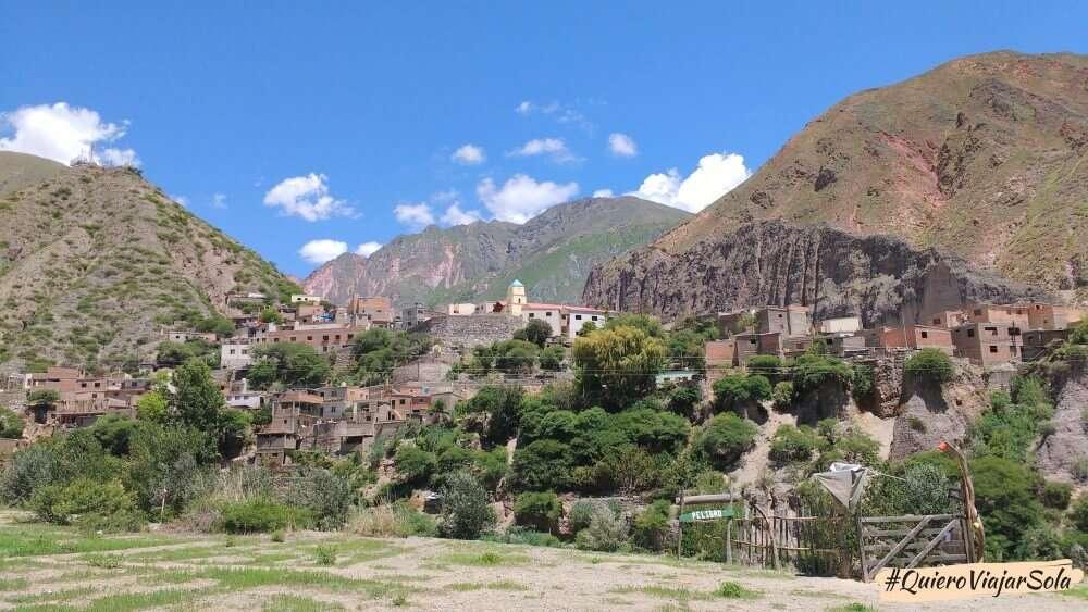 Viajar sola a la Quebrada de Humahuaca, Iruya