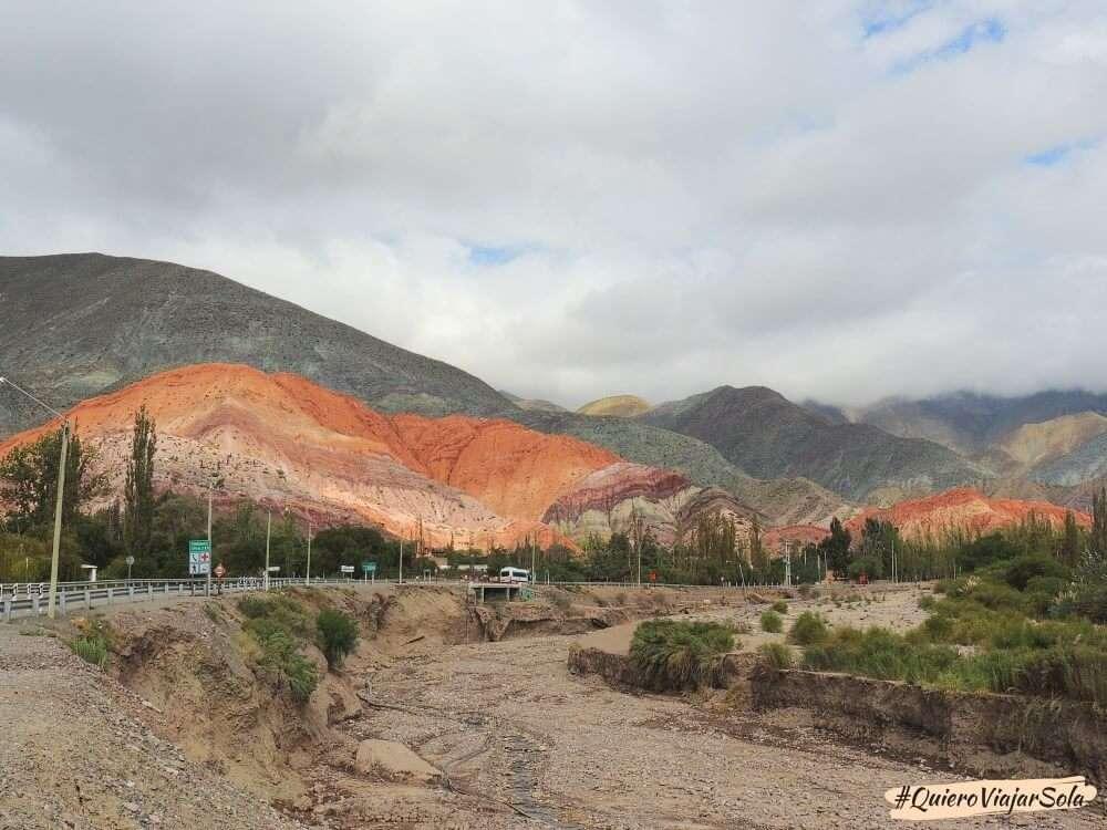 Viajar sola a la Quebrada de Humahuaca, Purmamarca