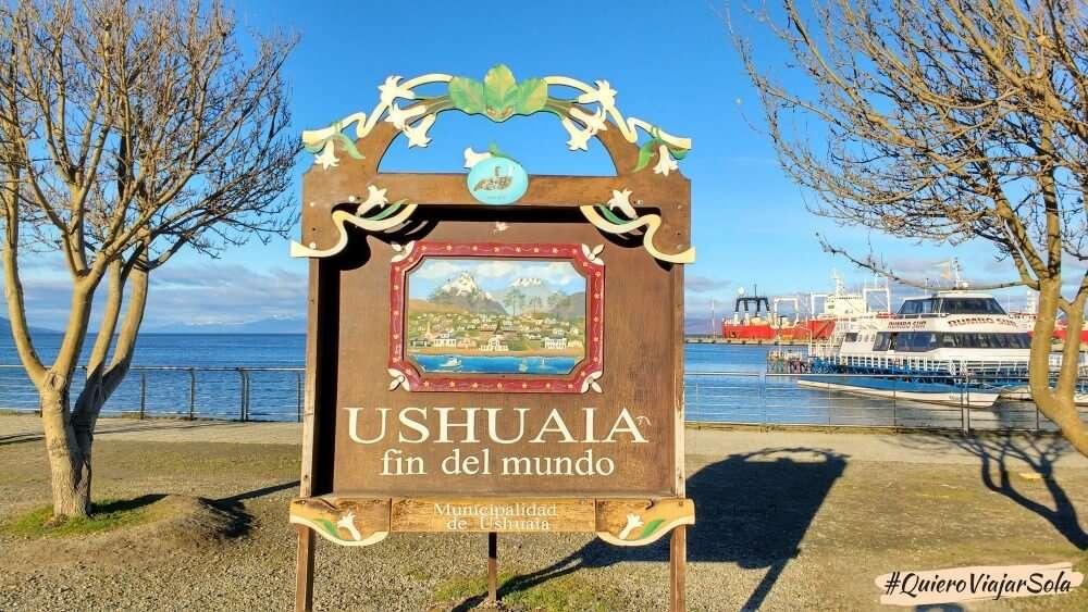 Viajar sola a Argentina, Ushuaia