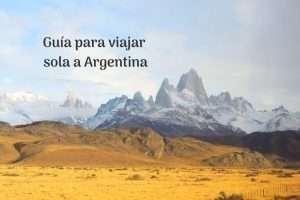 Guía para viajar sola a Argentina