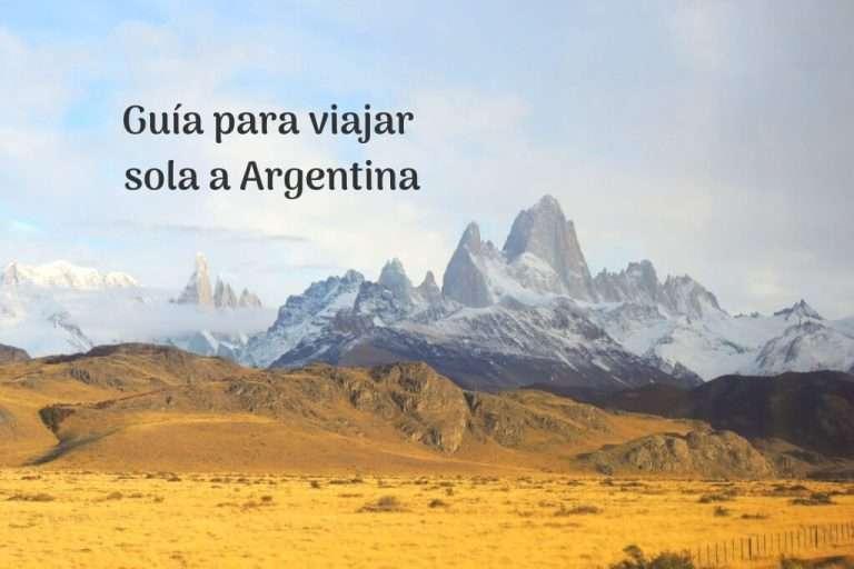 Viajar sola a Argentina