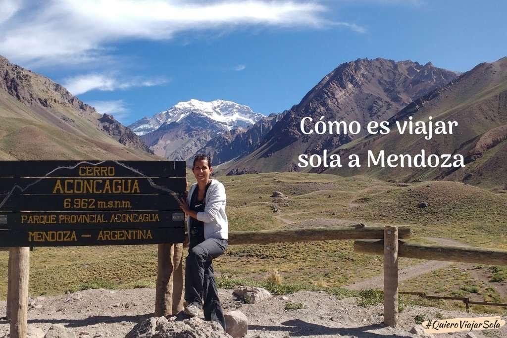 Cómo es viajar sola a Mendoza