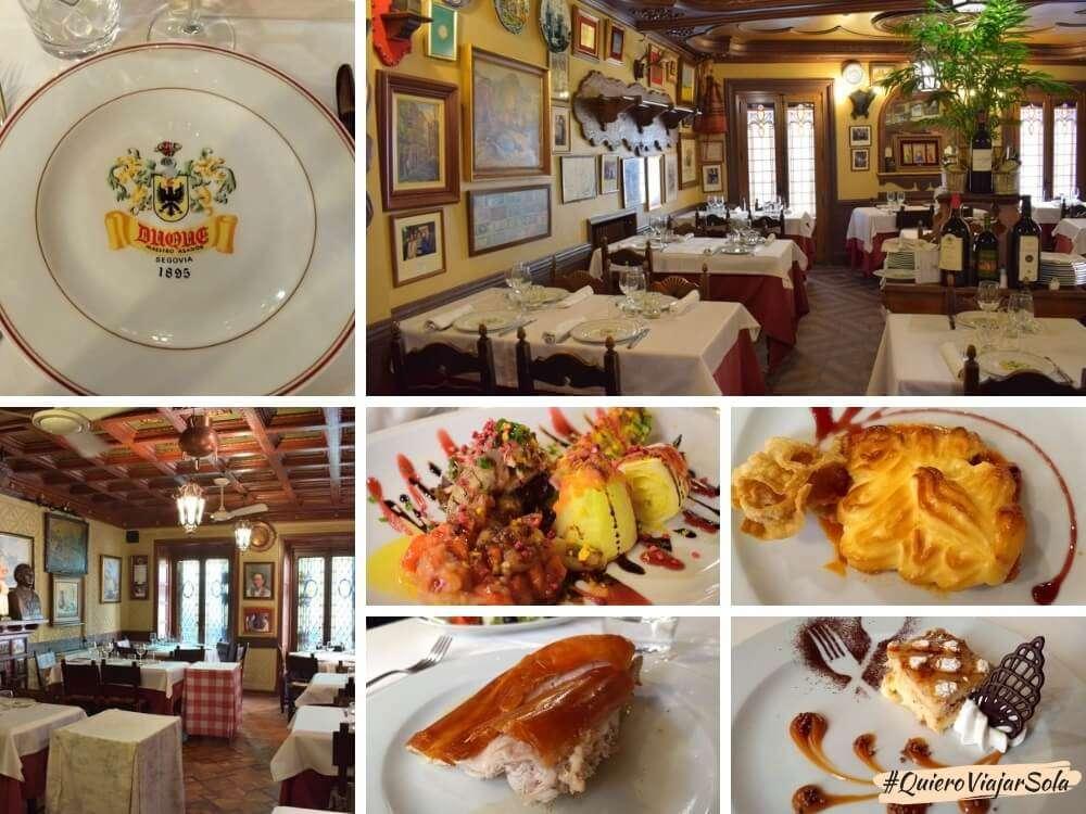 Viajar sola a Segovia, Casa Duque