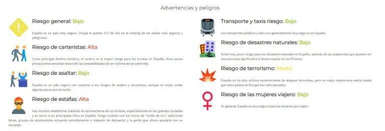 Es seguro viajar sola a España