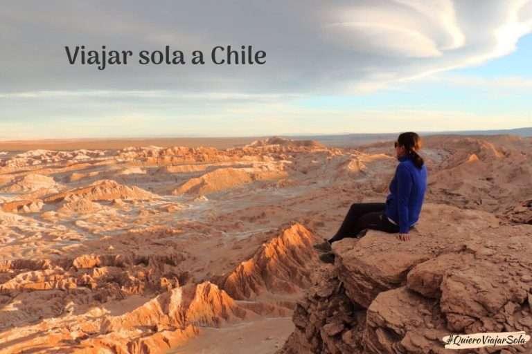 Viajar sola a Chile