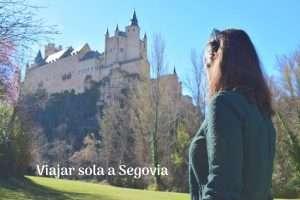 Viajar sola a Segovia