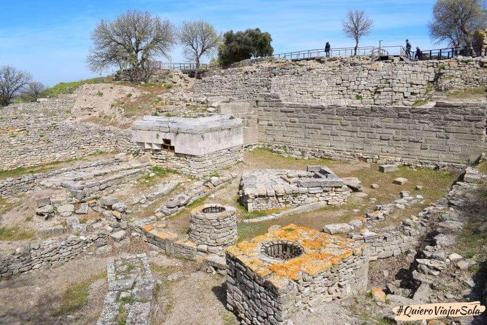 Viajar sola a Çanakkale, Troya