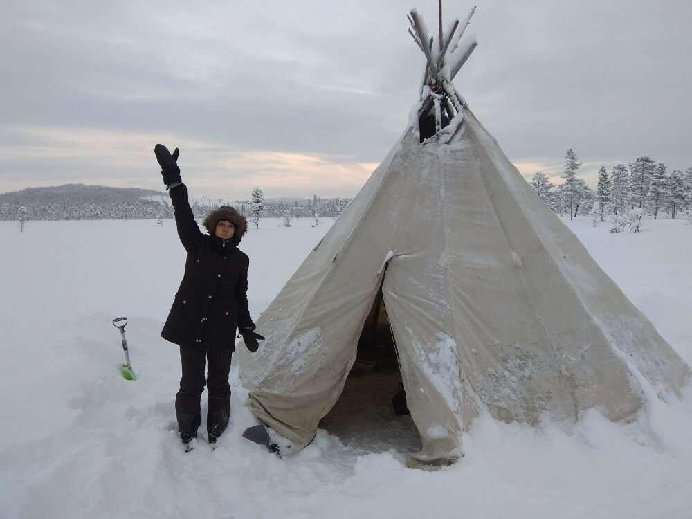 Trabajos para viajar, Laponia