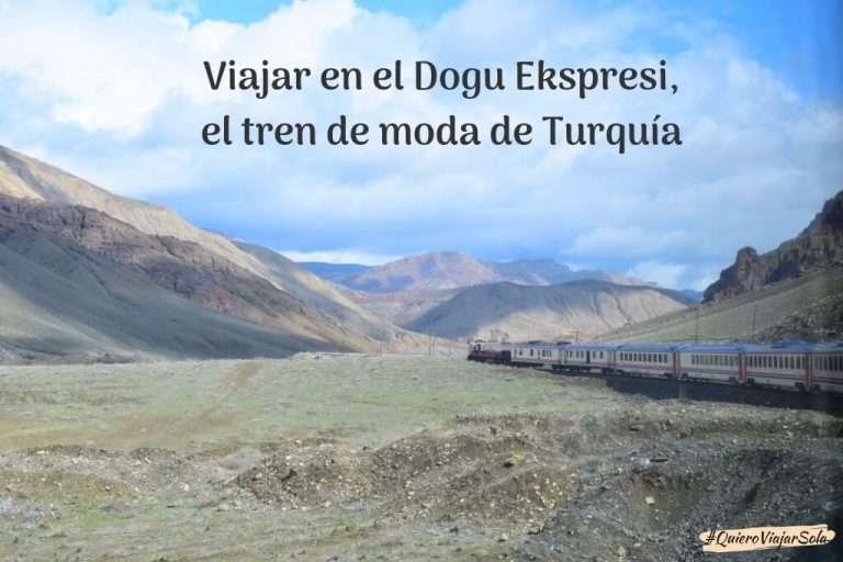 Viajar en el Dogu Ekspresi