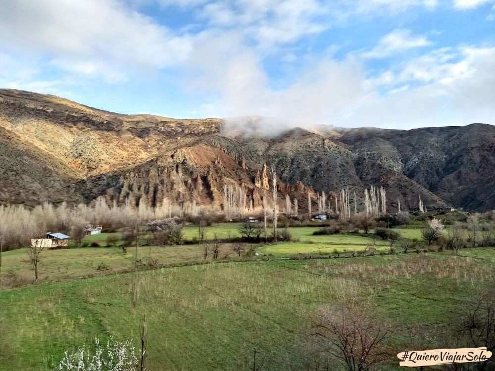 Viajar en el Dogu Ekspresi, paisaje