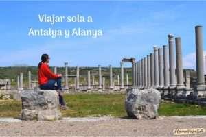 Viajar sola a Antalya y Alanya