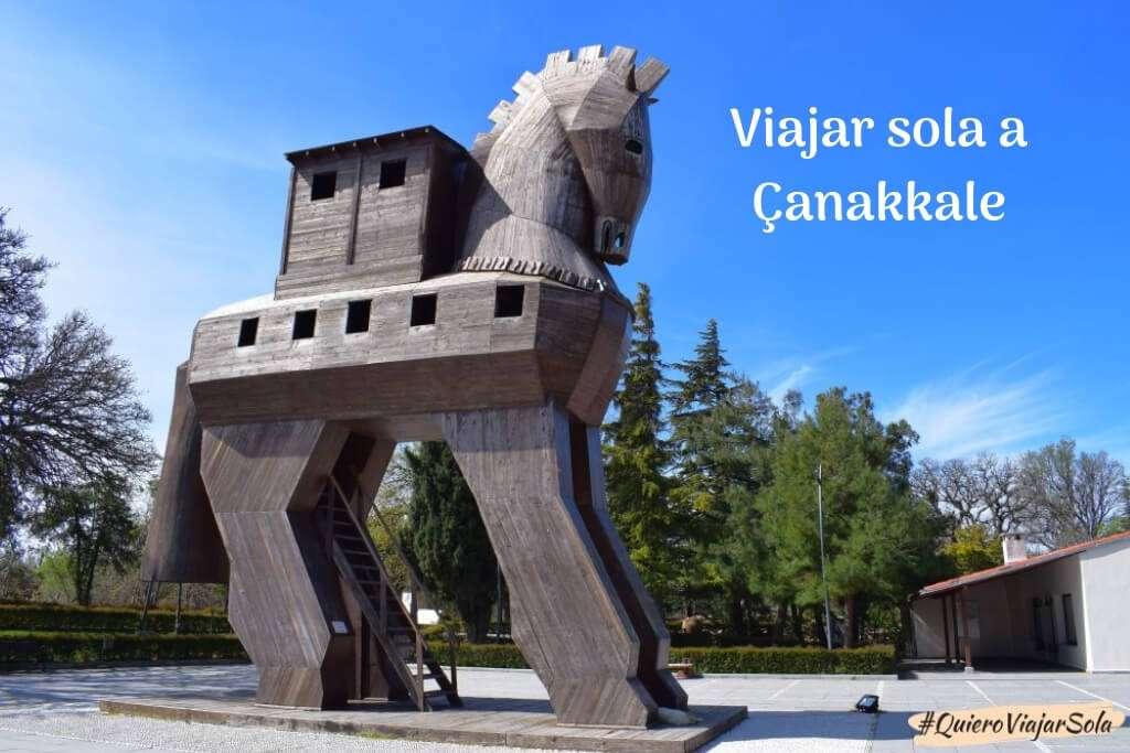 Viajar sola a Çanakkale para ver las ruinas de Troya (y otras cosas)
