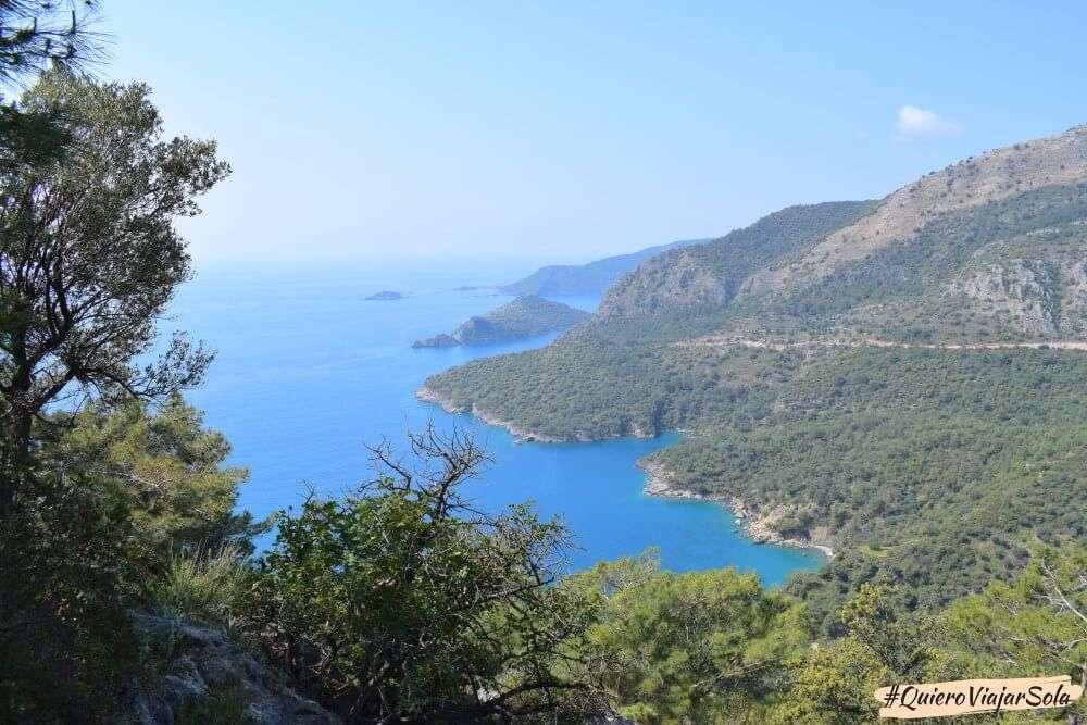 Viajar sola a Fethiye y Ölüdeniz, Ruta Licia