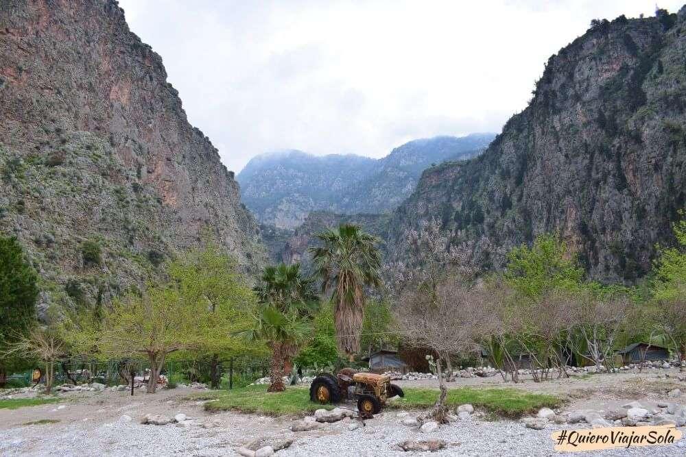 Viajar sola a Fethiye y Ölüdeniz, Valle de las Mariposas