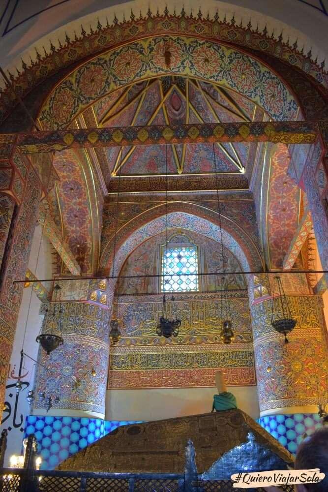 Viajar sola a Konya, Museo Mevlana