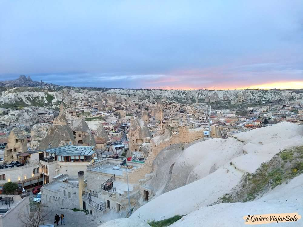 Viajar sola a la Capadocia, Göreme