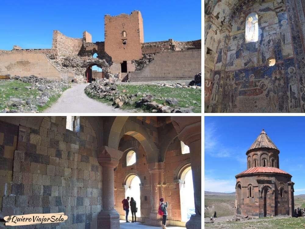 Viajar sola a Kars, ruinas de Ani