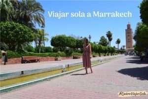 Viajar sola a Marrakech