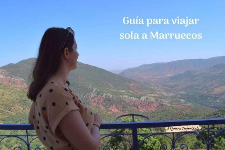 Viajar sola a Marruecos