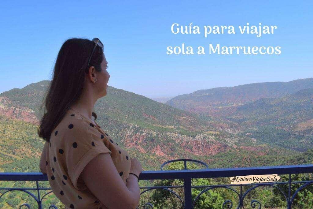 Guía para viajar sola a Marruecos