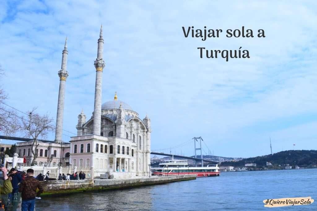 Viajar sola a Turquía