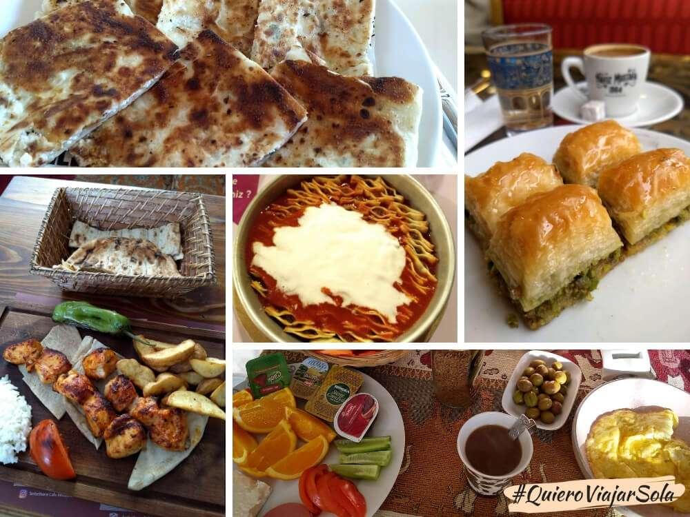 Viajar sola a Turquía, comida turca