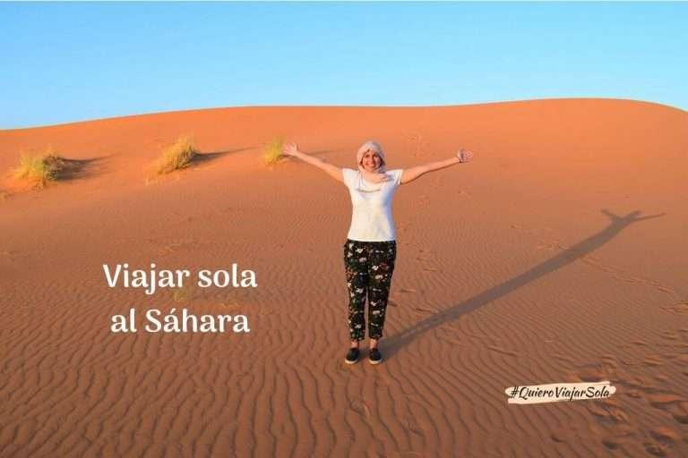 Viajar sola al Sáhara