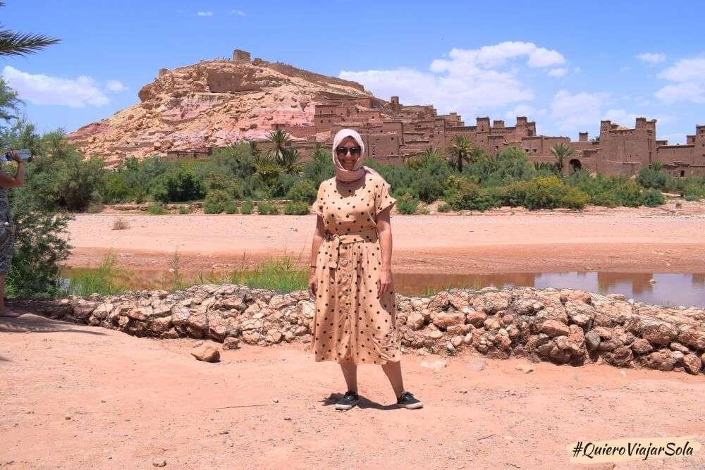 Viajar sola al Sáhara, Ait Ben Haddou