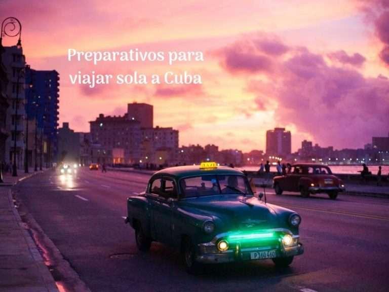 Viajar sola a Cuba