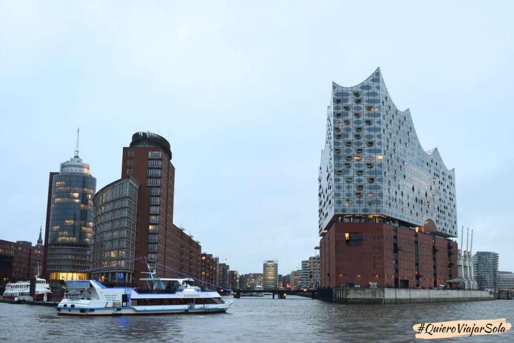 Viajar sola a Alemania, Hamburgo
