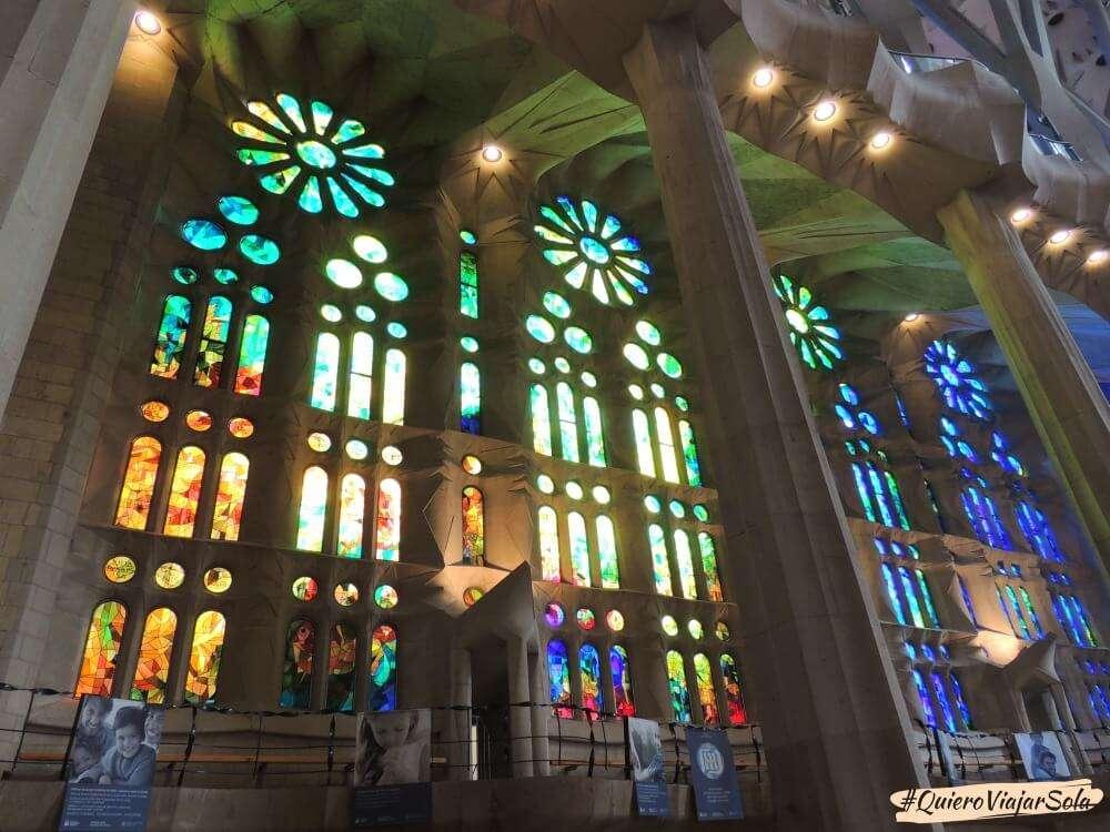 Viajar sola a Barcelona, Sagrada Familia