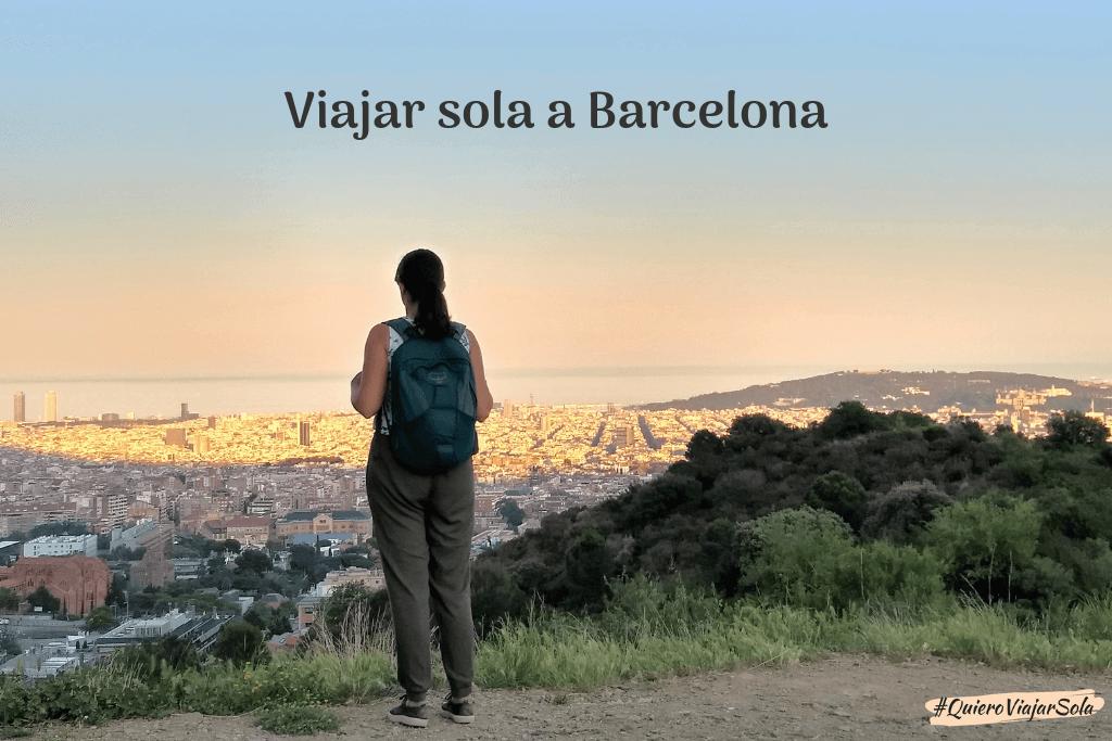 Guía para viajar sola a Barcelona