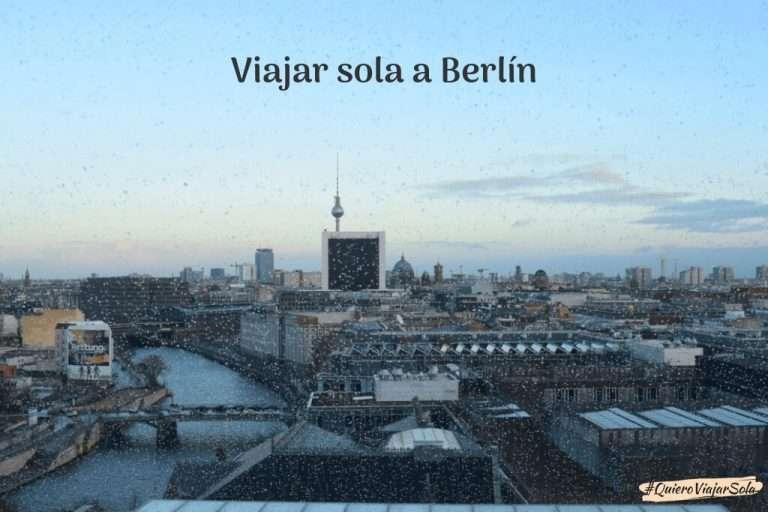 Viajar sola a Berlín