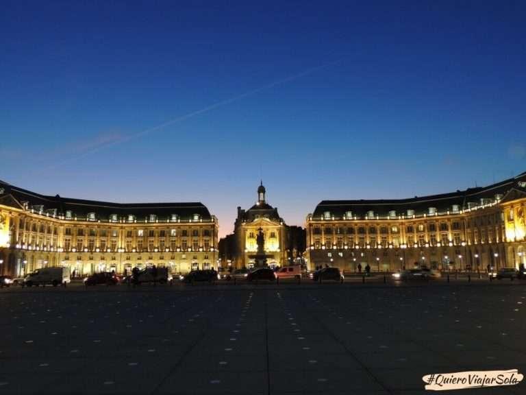 Viajar sola a Francia, Burdeos