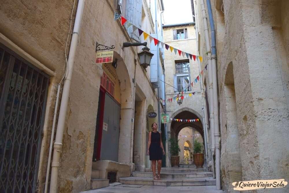 Viajar sola por el sur de Francia