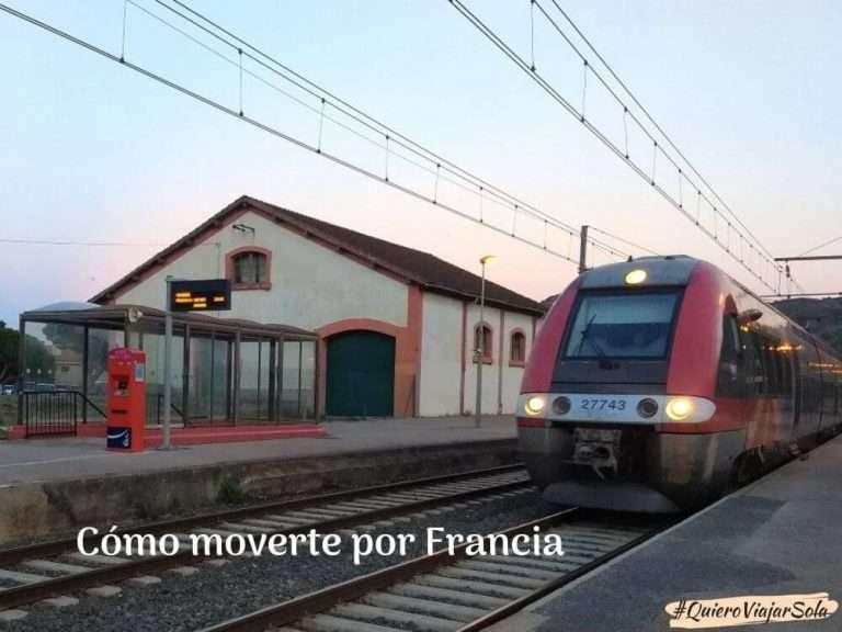 Cómo moverte por Francia en tren