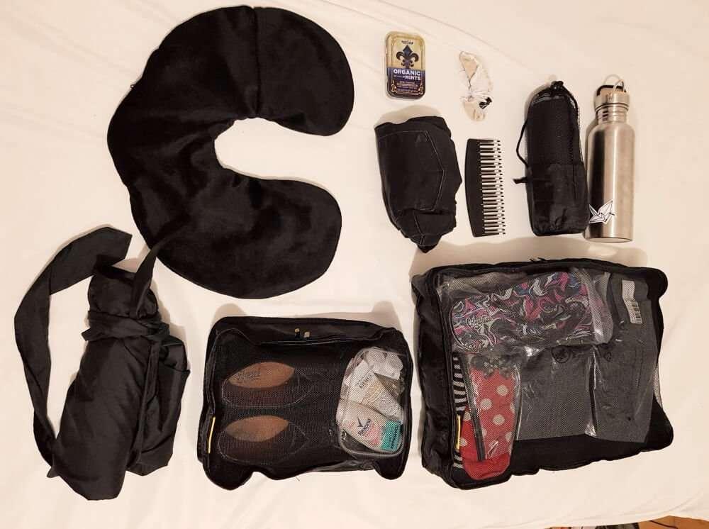 Empacar para un viaje corto