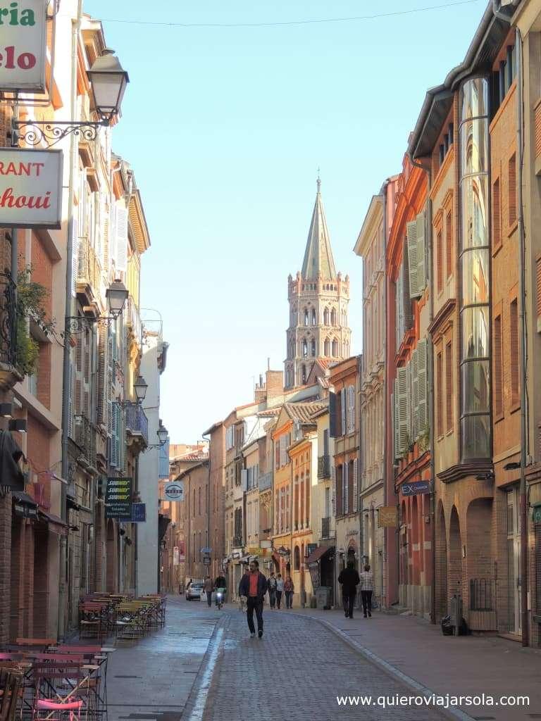 Viajar sola a Toulouse, Rue du Taur